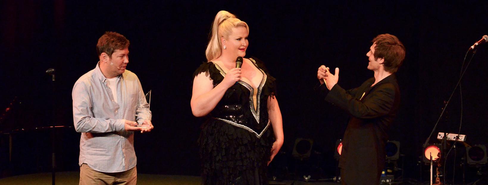 Kabarettbundesliga Daphne de Luxe, Sascha Korf
