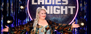 Daphne de Luxe bei der Ladies Night