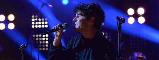 Roger Stein auf der Bühne vom 3sat Kabarettfestival