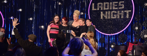 Finale Ladies Night Daphne de Luxe mit Gästinnen La Signora